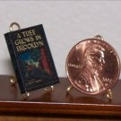 Dollhouse Miniature Book A Tree Grows in Brooklyn Betty Smith