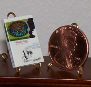 Dollhouse Miniature Book Charlie and the Chocolate Factory 1964