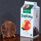 Barbie Bratz GI Joe Miniature Food Orange Juice 1:6 Box