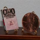 Dollhouse Miniature Book Cujo Novel Stephen King 1:12