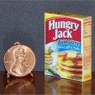 Barbie Bratz GI Joe Miniature Food Pancake Mix 1:6 Box