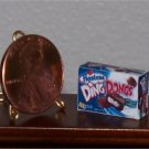 Dollhouse Miniature Food Grocery Ding Dongs 1:12 Box