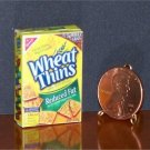 Barbie Bratz GI Joe Miniature Food Wheat Thins Crackers