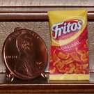 Dollhouse Miniature Fritos Original Corn Chips Food Bag