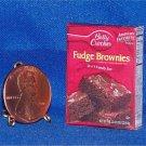 Barbie Bratz GI Joe Miniature Food Fudge Brownies 1:6