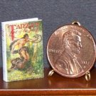 Dollhouse Miniature Book Tarzan Lord of the Jungle 1:12