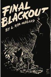 Dollhouse Miniature Book Final Blackout L. Ron Hubbard