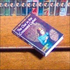 Dollhouse Mini Nancy Drew Clue in the Crossword Cypher