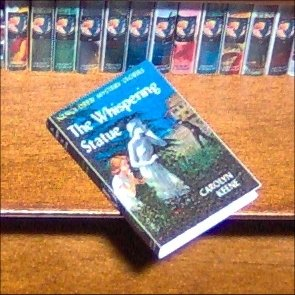 Dollhouse Miniature Nancy Drew The Whispering Statue
