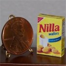 Dollhouse Miniature Grocery Vanilla Nilla Wafer Cookies