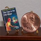 Dollhouse Miniature Nancy Drew Clue in the Old Album