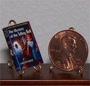 Dollhouse Miniature Nancy Drew Mystery of Tolling Bell