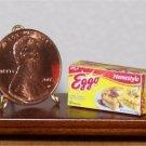 Dollhouse Miniature Eggo Frozen Waffles Food Grocery