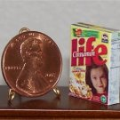 Dollhouse Miniature Cinnamon Life Cereal Box 1:12 Food