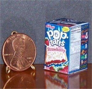 Barbie Bratz GI Joe Miniature Food Strawberry Pop-Tarts