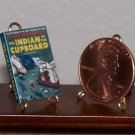 Dollhouse Miniature Book Indian in the Cupboard 1:12
