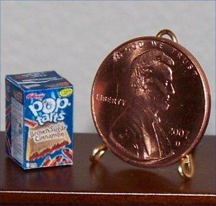 Dollhouse Miniature Brown Sugar Cinnamon Pop-Tarts 1:12