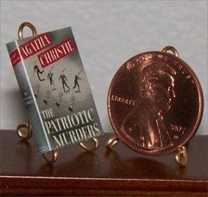 Dollhouse Miniature Patriotic Murders Agatha Christie