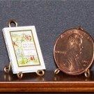 Dollhouse Miniature Little Bo-Peep Sleeping Beauty Book