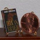 Dollhouse Miniature Book The Pelican Brief John Grisham