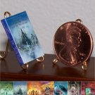 Dollhouse Miniature Book Chronicles of Narnia C S Lewis