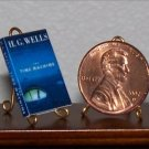 Dollhouse Miniature Book The Time Machine HG Wells 1:12