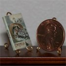 Dollhouse Miniature Book Cindrella Fairytale 1893 1:12