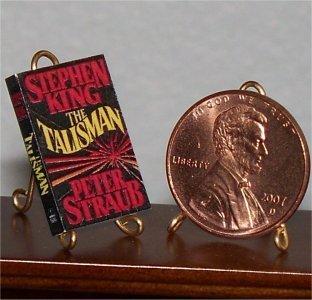 Dollhouse Miniature Book The Talisman Stephen King 1:12