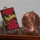 Dollhouse Miniature Book The Talisman Stephen King 1:12