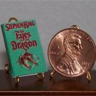 Dollhouse Miniature Eyes of the Dragon by Stephen King