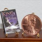 Dollhouse Miniature Book Dark Tower 6: Song of Susannah