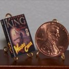 Dollhouse Miniature Book Dark Tower 5: Wolves of Calla