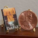 Dollhouse Miniature Book The Dark Half by Stephen King
