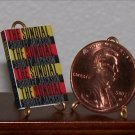 Dollhouse Miniature Book The Sundial by Shirley Jackson
