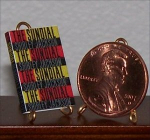 Dollhouse Miniature Book The Sundial by Shirley Jackson
