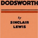 Dollhouse Miniature Book Dodsworth Sinclair Lewis 1929
