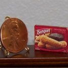 Dollhouse Miniature Chicken Fingers Frozen Dinner 1:12