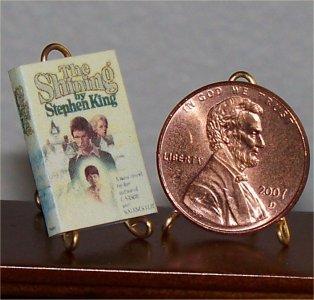 Dollhouse Miniature Book The Shining Stephen King 1:12