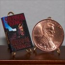 Dollhouse Miniature Book Needful Things by Stephen King