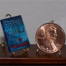 Dollhouse Miniature Book Lisey's Story by Stephen King