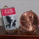 Dollhouse Miniature Sound & the Fury William Faulkner