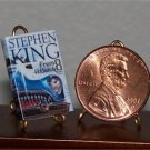 Dollhouse Miniature Book From a Buick 8 by Stephen King
