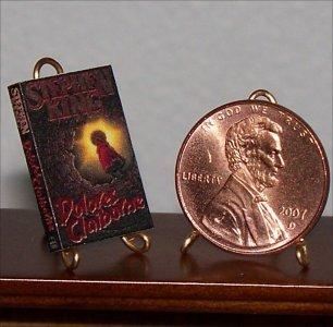 Dollhouse Miniature Book Dolores Claiborne Stephen King