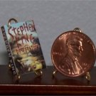 Dollhouse Miniature Book Desperation Stephen King 1:12
