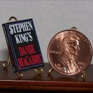 Dollhouse Miniature Book Danse Macabre by Stephen King