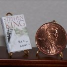 Dollhouse Miniature Book Bag of Bones Stephen King 1:12