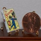 Dollhouse Miniature Book Scarecrow of Oz L. Frank Baum