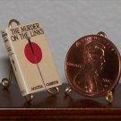 Dollhouse Miniature Murder on the Links Agatha Christie