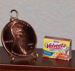 Dollhouse Miniature Food Grocery Shells & Cheese 1:12