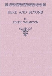 Dollhouse Miniature Book Here and Beyond Edith Wharton